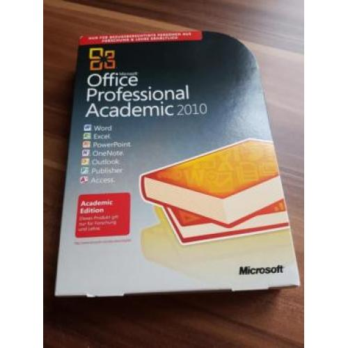 MS Office Professional Academic 2010